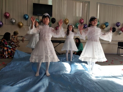 Праздник, посвященного 15 – летию Республиканского центра социальной адаптации детей, Всемирному Дню инвалидов и 30 – летию принятия Конвенции о правах ребёнка