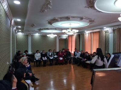 Тренингов по «Организация курсов подготовки приемных родителей в домах Мехрибонлик и Детских городках»