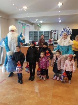 Неожиданная встреча с Дедом Морозом и Снегурочкой!!!
