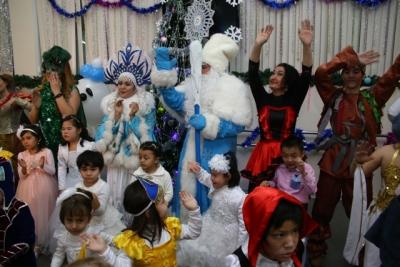 Новогодний праздник для детей в РЦСАД