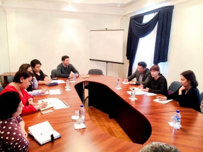 Рабочая Встреча с Северин Жакоме Вите