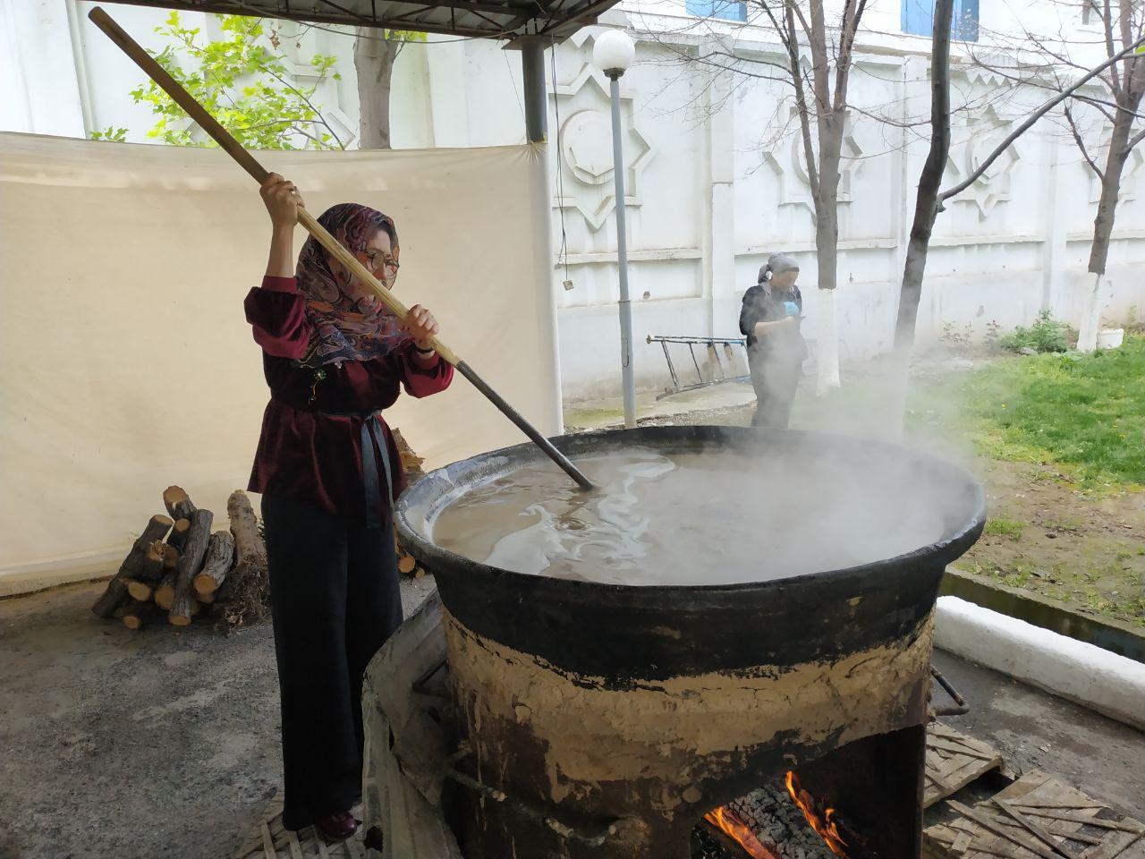 Сумалак – Наврўзнинг шоҳона таоми
